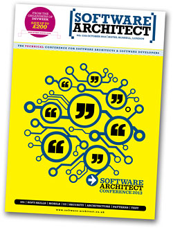 Software Architect 2013 brochure